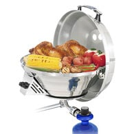 Magma Marine Kettle 3 Combination Stove & Gas Grill - Original Size