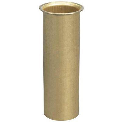 """Moeller 1"""" Brass Drain Tube, 3""""L"""