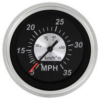 """Sierra Black Sterling 3"""" Speedometer"""