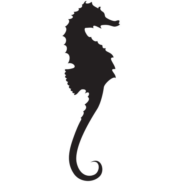 Sea Horse Vinyl Decal