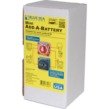 Blue Sea Systems Mini Add-A-Battery Kit