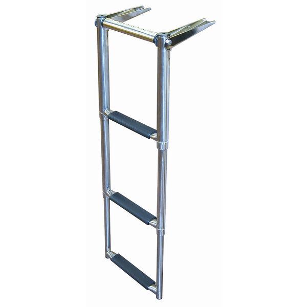 Dockmate Over-Platform Telescoping Ladder With Hand Grip, 3-Step