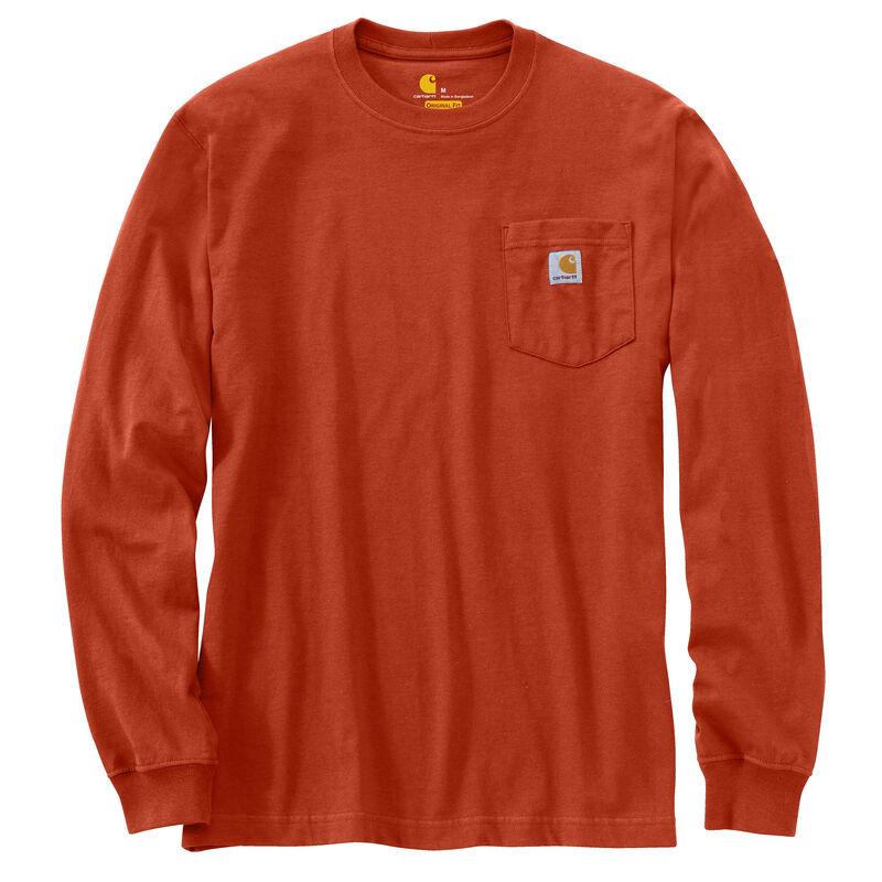 Carhartt Men's Workwear Long-Sleeve Pocket Tee image number 13