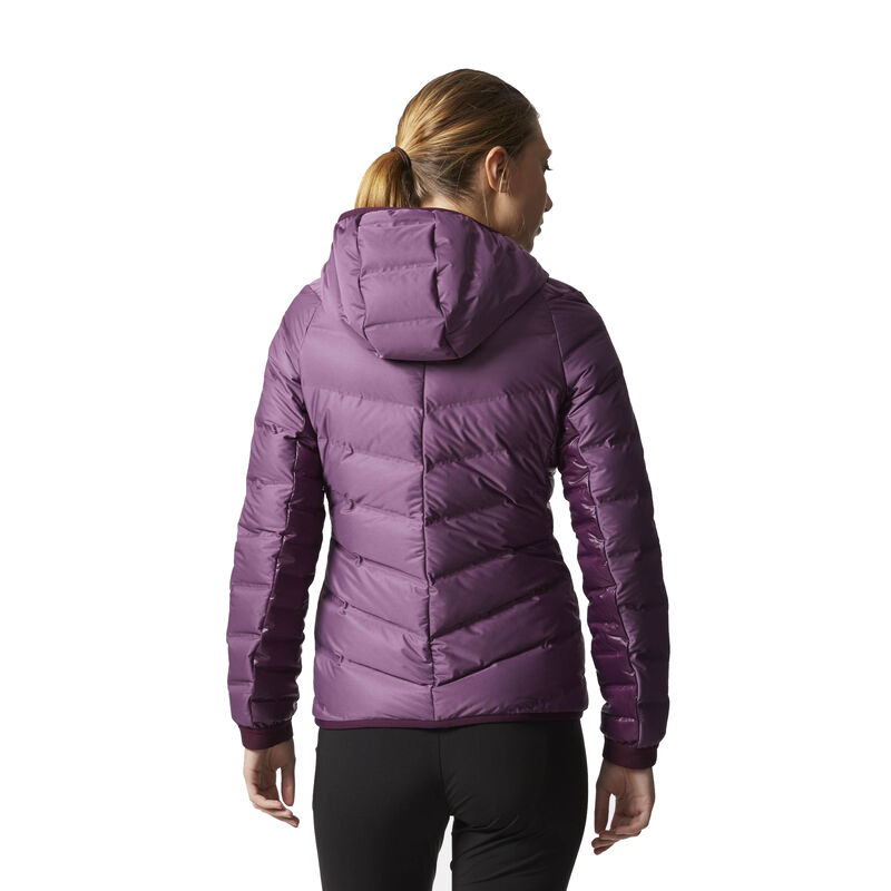 Adidas Women's Nuvic Hooded Down Jacket image number 8