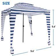 EasyGo Cabana 6' X 6', Striped