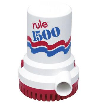 Rule Submersible Bilge Pump 02 - 1500 GPH