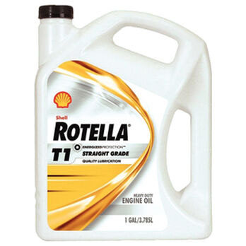 Shell Rotella T1 Grade 40W Diesel Engine Oil, 5-Gallon Pail
