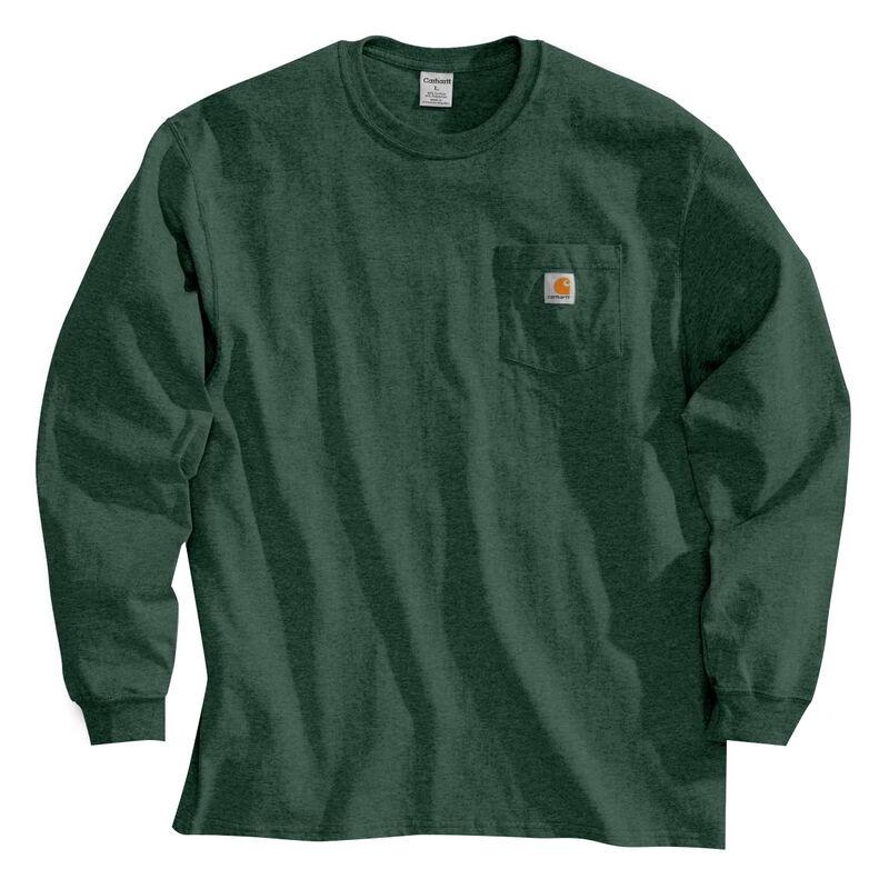 Carhartt Men's Workwear Long-Sleeve Pocket Tee image number 27