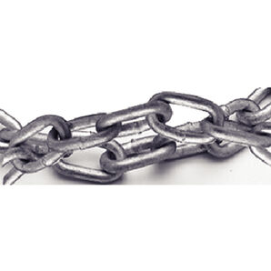"CMP G43 Galvanized Mooring Chain, 1/2"" x 200'"