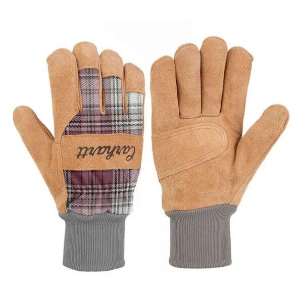 Carhartt Women's Suede Knit-Cuff Work Glove