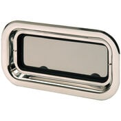 Bomar Stainless Steel Port Light With Trim Ring