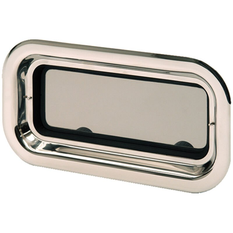 Bomar Stainless Steel Port Light With Trim Ring image number 1