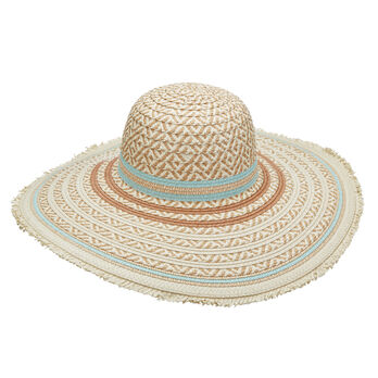 Dorfman Pacific Women's Big Brim Paper Braid Hat