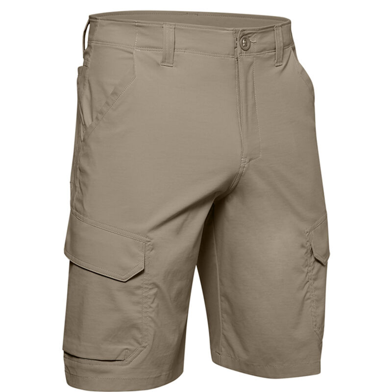 Under Armour Men's Fish Hunter Cargo Shorts image number 8