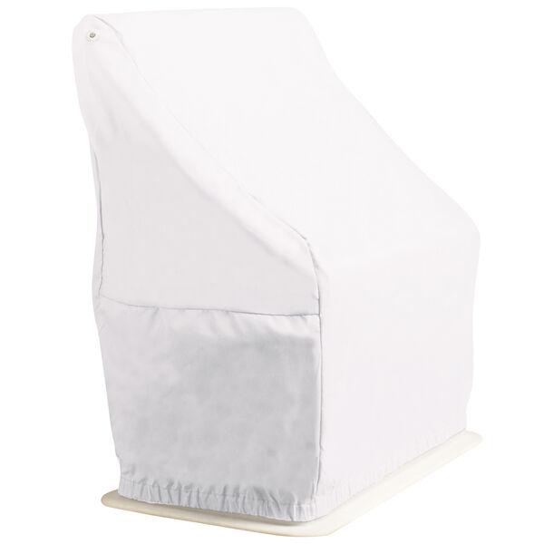 Overton's Swingback Boat Seat Cover, White Vinyl