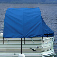 "Pontoon Easy-Up Enclosure 56""D x 74""T, Pacific Blue"