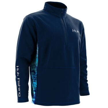 Huk Men's Fleece Quarter-Zip Pullover