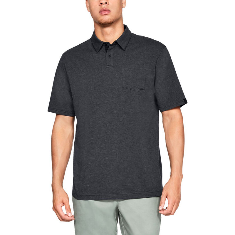 Under Armour Men's Charged Cotton Scramble Polo image number 8