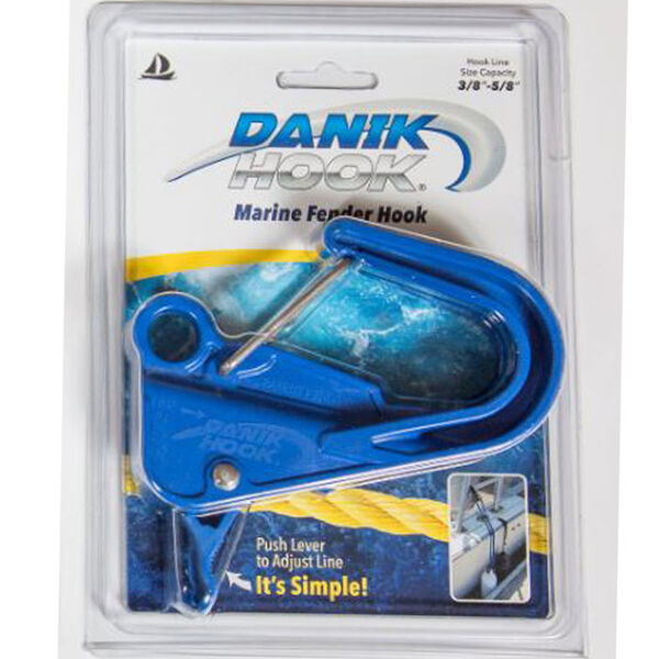 Danik Hook Adjustable Fender Hook, Blue