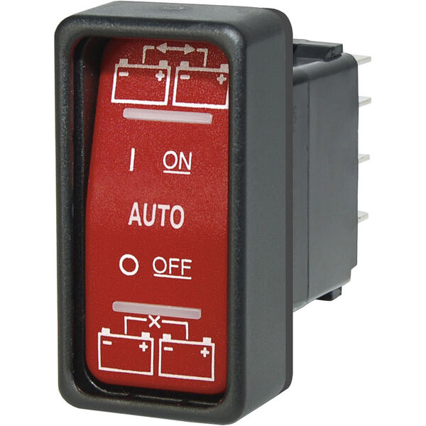 Blue Sea Systems SPDT Remote Control Contura Switch ON-OFF-ON