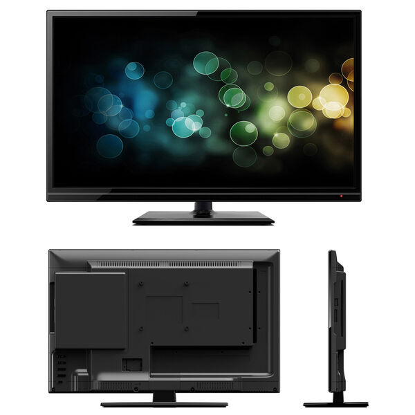 """Majestic 18.5"""" Ultra Slim HD LED 12V TV With Multimedia Connections"""
