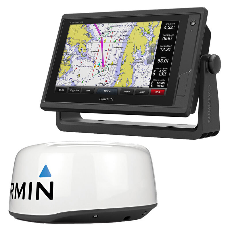 Garmin GPSMAP 942xs Touchscreen Chartplotter/Sonar With GMR18 HD + Radar image number 1