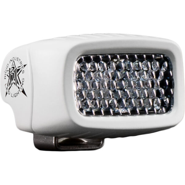 Rigid Industries Marine SR-M White LED Diffused Spreader Light, Bracket-Mount
