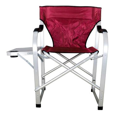 Folding Director Chair with Side Table