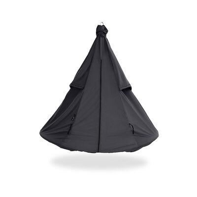 Black Hangout Pod Hammock Weather Cover
