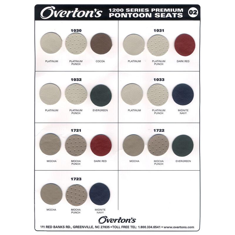 Toonmate Premium Pontoon Seat Vinyl Sample Card image number 1