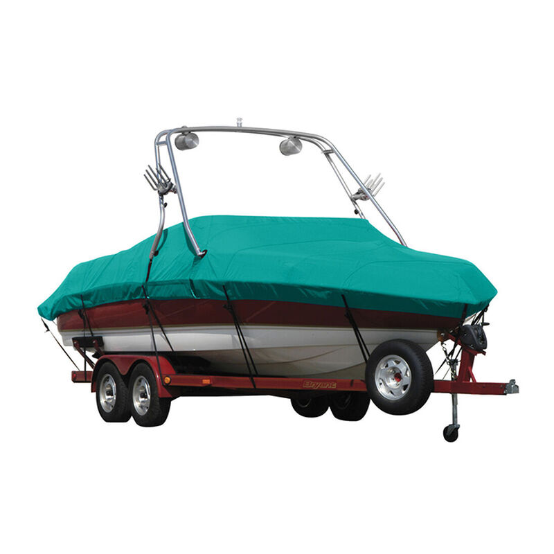 Exact Fit Sunbrella Boat Cover For Cobalt 200 Bowrider With Tower Covers Extended Platform image number 8