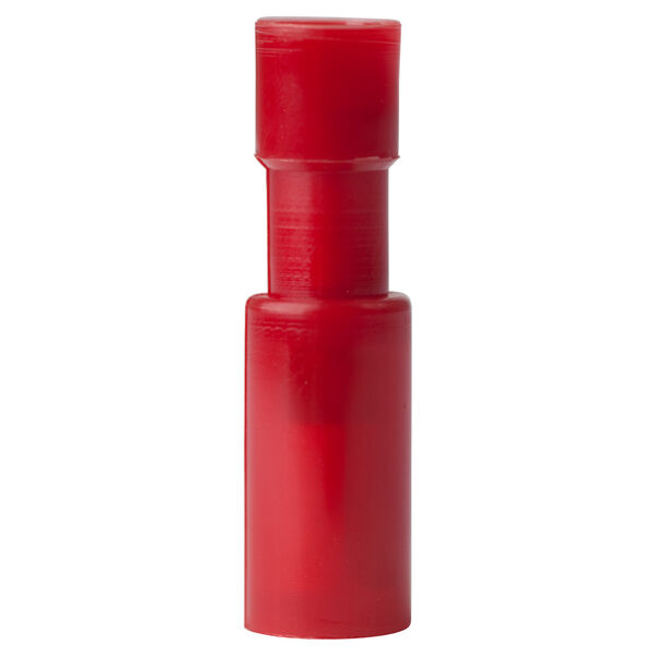 Ancor Nylon Snap Plugs, Female, 22-18 AWG, 4-Pk. - Red