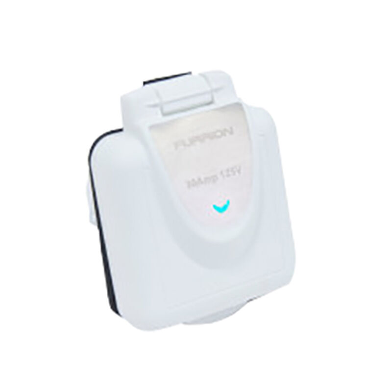 Furrion 30A Marine Power Smart Inlet (White) image number 1
