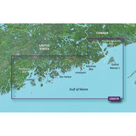 Garmin BlueChart g2 Vision HD Cartography, North Maine