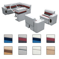 Toonmate Deluxe Pontoon Furniture w/Toe Kick Base, Group 6 Package Plus Stand