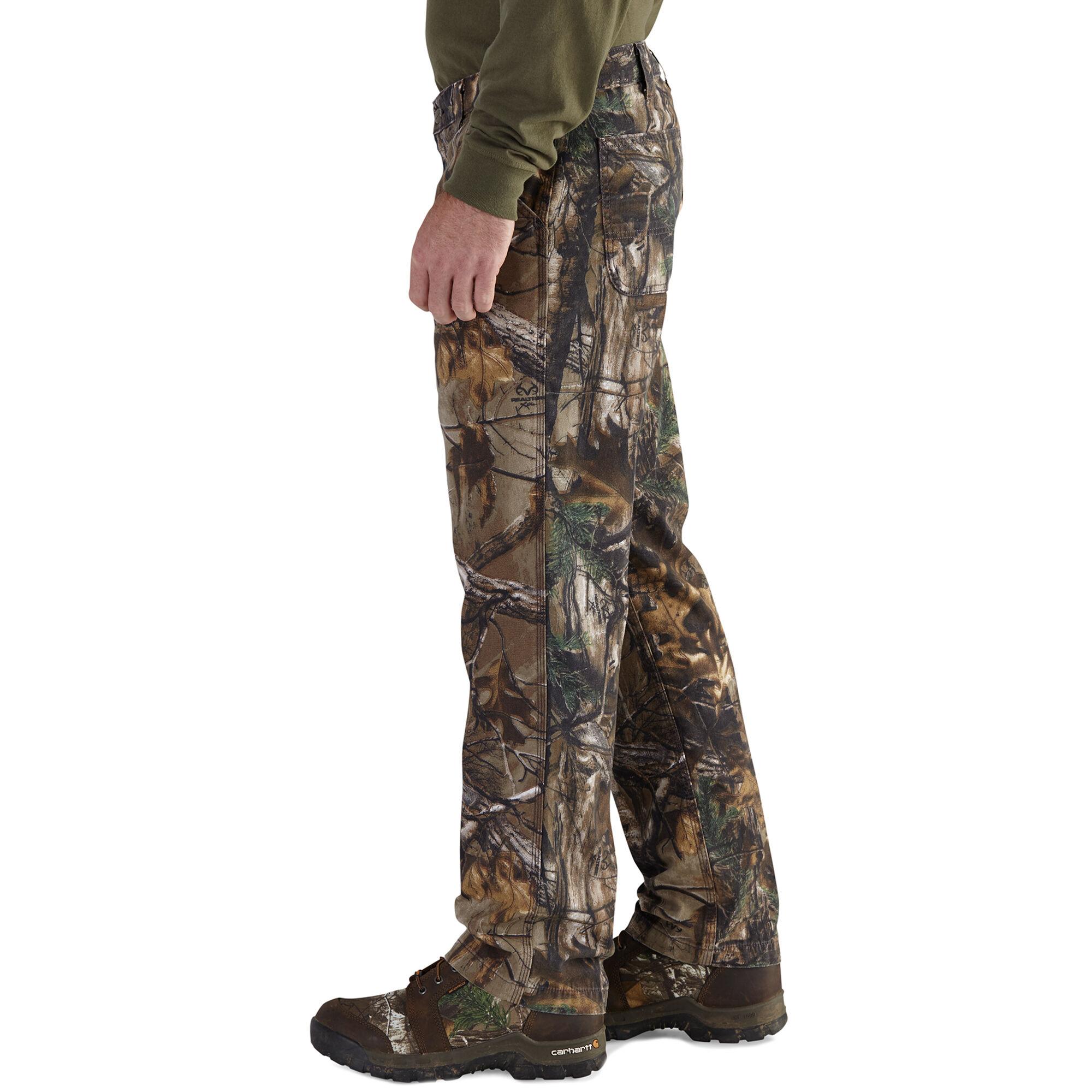 Carhartt Mens Rugged Flex Rigby Camo Dungaree Pant Pants