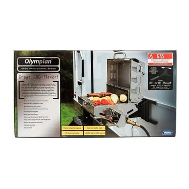 Camco 5500 Stainless Steel RV and Outdoor Grill
