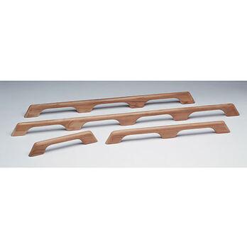 """SeaForce Teak Two-Loop Handrail, 23""""L x 2-3/8""""H x 1""""D"""