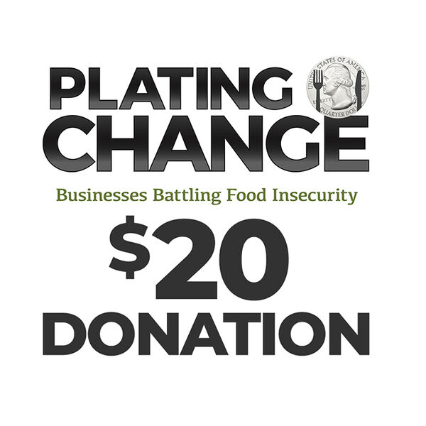 PLATING CHANGE $20 Donation