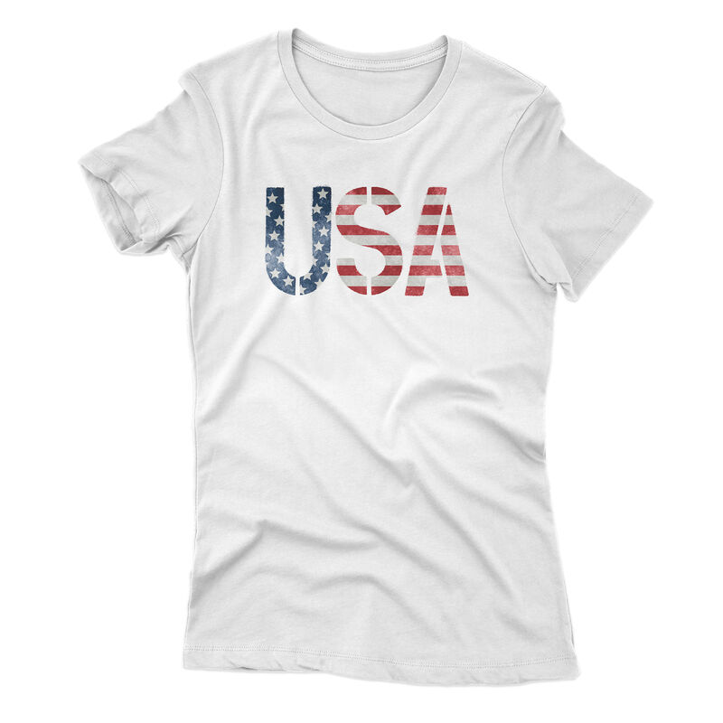 Points North Women's USA Short-Sleeve Tee image number 1
