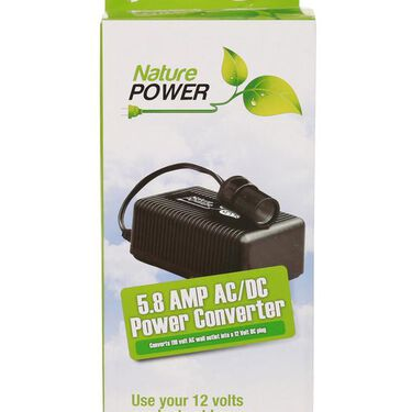 Nature Power 5.8 Amp AC to DC Converter