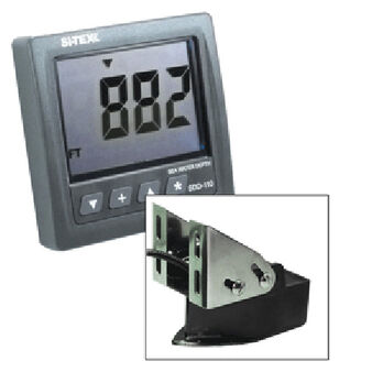 Si-Tex SDD-110 Seawater Depth Indicator With SS Transom-Mount Transducer