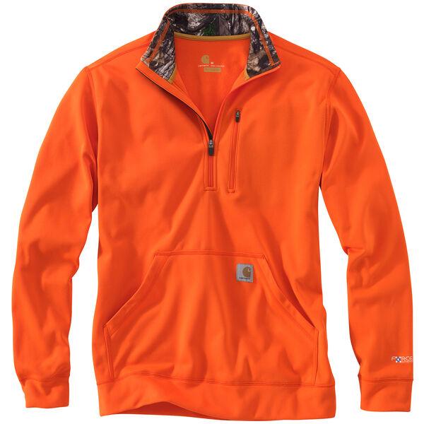 Carhartt Men's Force Extremes Mock-Neck Half-Zip Sweatshirt