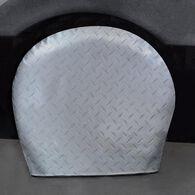 """Diamond Plate Silver Tyre Gards, 27"""" to 29"""""""