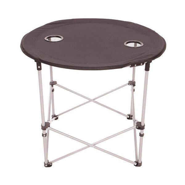 Round Folding Table, Black