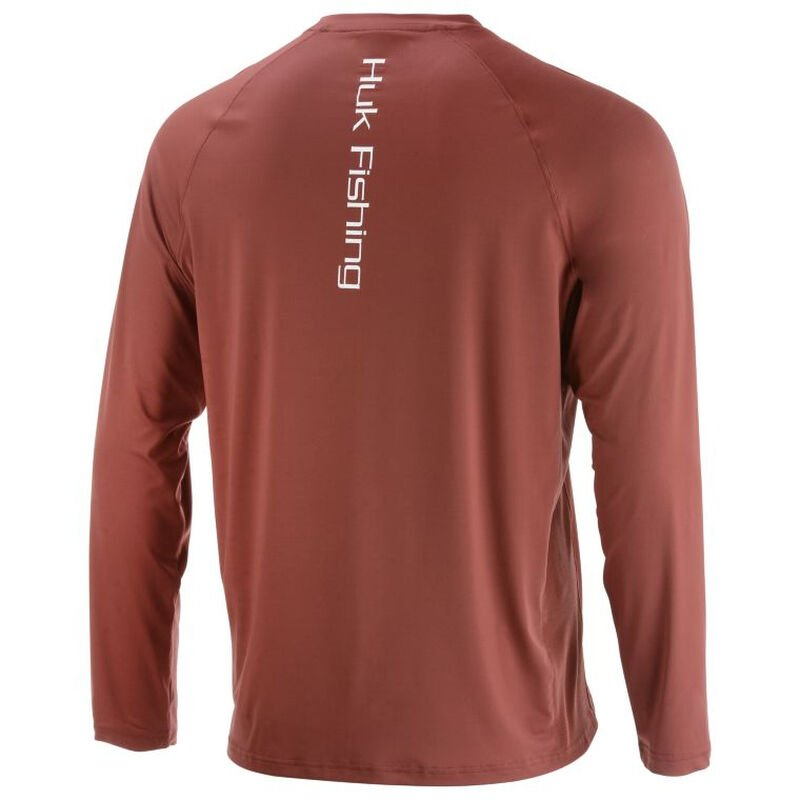 HUK Men's Pursuit Vented Long-Sleeve Tee image number 8