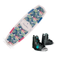 Liquid Force Women's Angel Wakeboard With Overton's Bindings