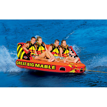 "Great Big Mable Towable, 92""L x 106""W"