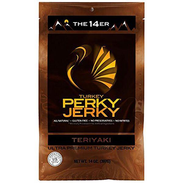 Perky Jerky 14er Tasty Teriyaki Turkey Jerky, 14 oz.