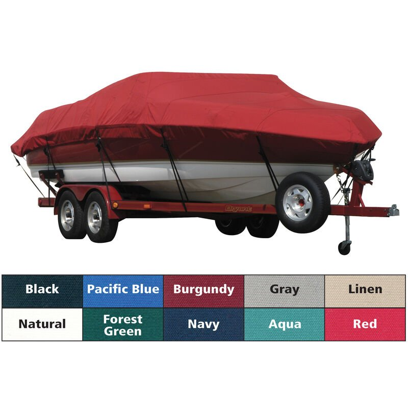 Exact Fit Covermate Sunbrella Boat Cover For BAYLINER CAPRI 205 BR image number 1